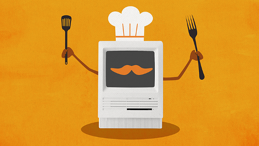 هوش مصنوعی دستورهای آشپزی صادر میکند
