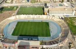 ورزشگاه فرانسو حریری در شهر اربیل