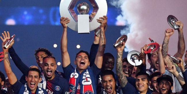 پاریسن ژرمن قهرمان این فصل لیگ یک فرانسه اعلام شد