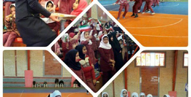 جشن دهه فجر آموزشگاه  ۱۲ فرورد