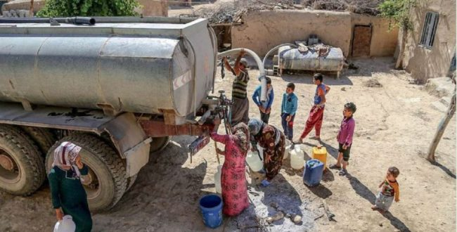 آبرسانی به ۲۵۱ هزار نفر از مردم سیستان و بلوچستان با تانکر
