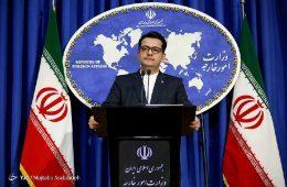 سخنان موسوی، سخنگوی امور خارجه خصوص توقف ظریف در بیاریتز