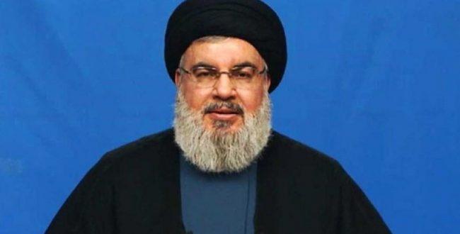 سخنان سید حسن نصرالله در مورد پهبادی که به لبنان وارد شد