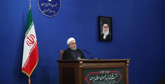 «حسن روحانی» رئیسجمهور در نشست خبری (۷) در افطاری پیشکسوتان ورزش