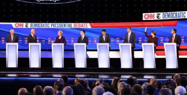 ️حمله نامزدهای دموکرات انتخابات ریاستجمهوری آمریکا به ترامپ در چهارمین مناظره انتخاباتی