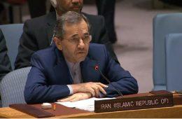 تخت روانچی نماینده دائم ایران