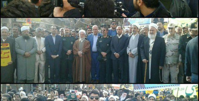 تصاویری از حضور مردم بجنورد