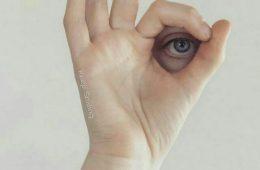 چشمی که دائم عیبهای دیگران را ببیند …