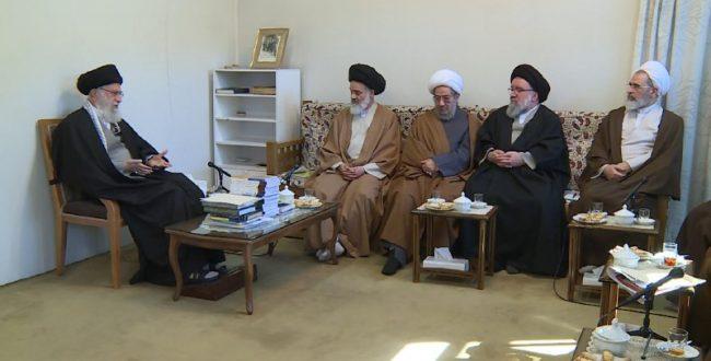 رهبر معظم انقلاب اسلامی در دی