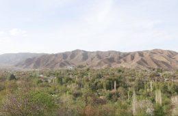 روستای سردسیر در کرمان