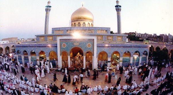 برگزاری نماز جمعه در حرم حضرت