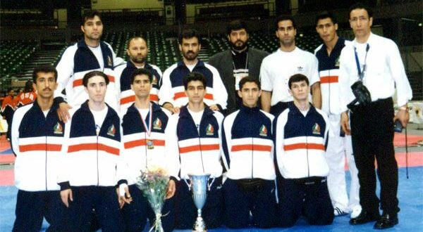 ایران برای نخستین بار کاپ قهرمانی جام جهانی را بالای سر برد