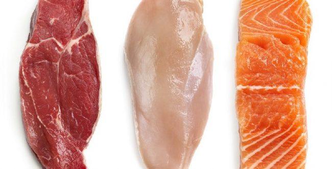گوشت و ماهی منابع اصلی پروتئین