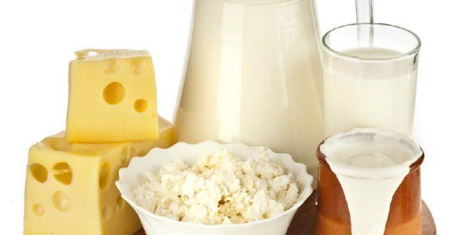 لبنیات مثل شیر و ماست، منبع کم