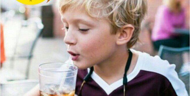 عوارض خوردن یک لیوان نوشابه مشکی برای کودکان