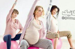تأثیر ورزش بر بارداری