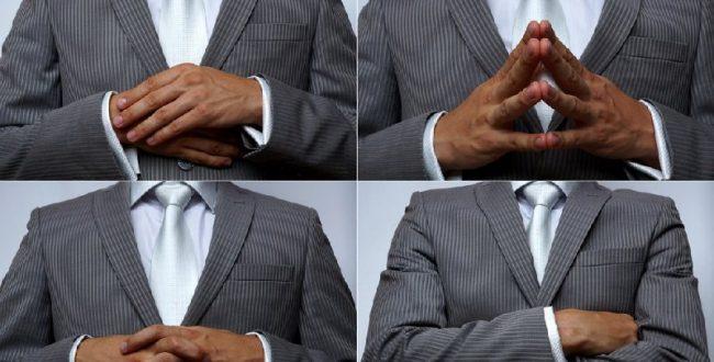 حرکات دست ها یکی از کاربردی تر