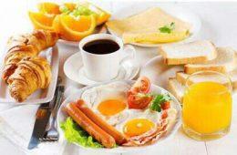 صبحانه بخورید لاغر شوید
