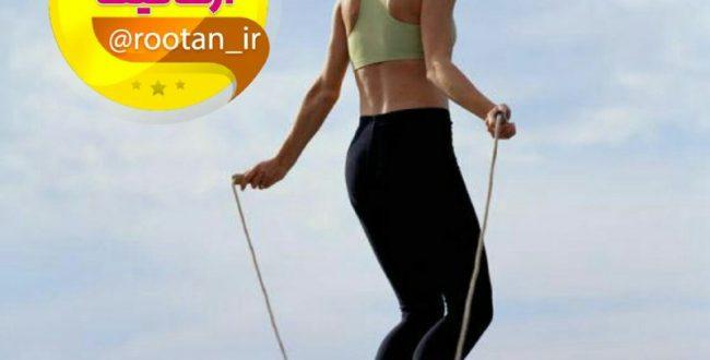 طناب زدن ، تمرینی عالی برای چربیسوزی!!!