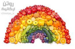 تغذیه رژیم غذایی رنگین