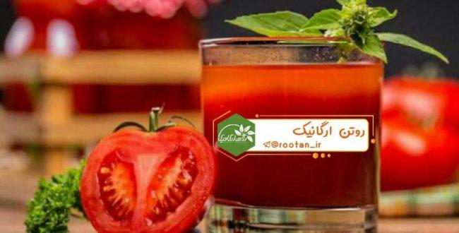 خواص آب گوجه فرنگی برای پوست