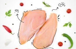 مواد مغذی در گوشت مرغ