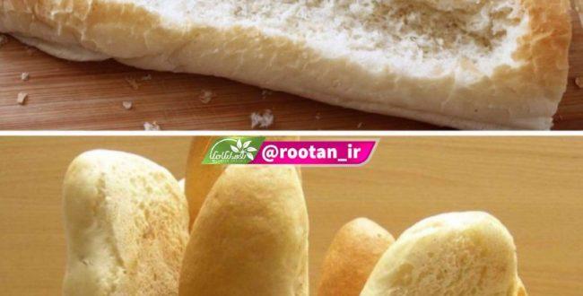محتویات داخل نان باگت نباید