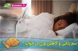 سم زدایی و کاهش وزن در خواب