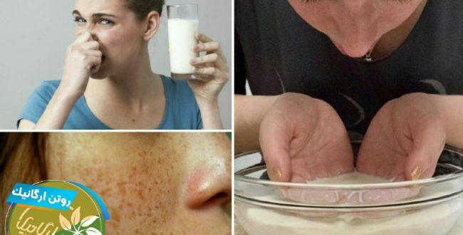شیر ترش شده را دور نریزید، ک