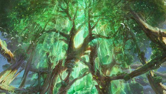 درختی مافوق طبیعی از اسطوره های قوم مایا