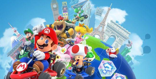 بررسی بازی موبایل Mario Kart Tour