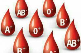 گروه خونی شما چیست ؟