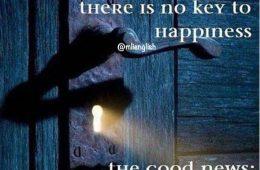خبر بد  هیچ کلیدى براى خوشبخت