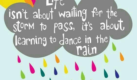 زندگی یعنی …زیر بارون بر