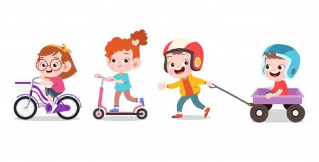 کودکانی که با دیگر بچهها بازی