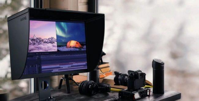 مانیتور ۲۷ اینچی BenQ با رزولوشن ۲K معرفی شد