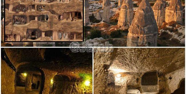شهری زیرزمینی در ترکیه