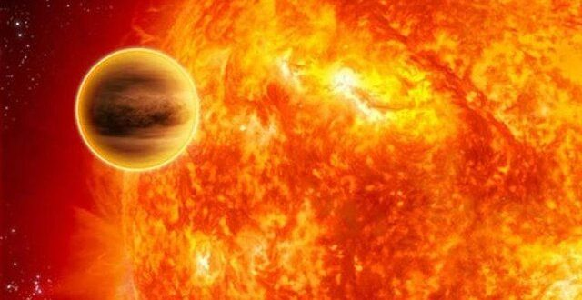 ️عبور تیر از مقابل خورشید در ۲۰ آبان