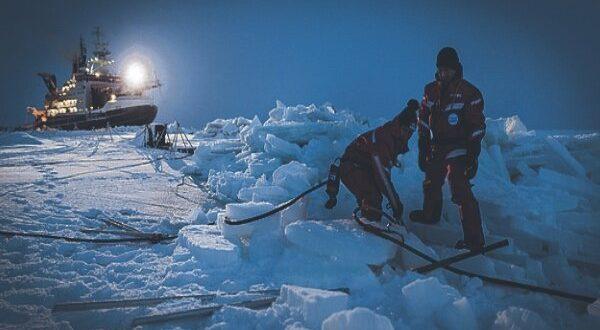 ️اینترنت پر سرعت در قطب شمال