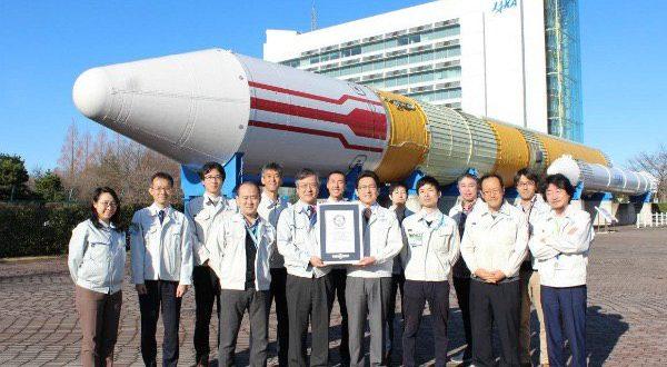 ️ ماهواره ژاپنی رکورد گینس را