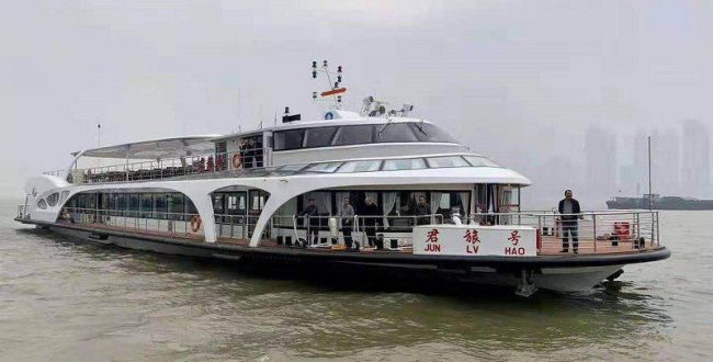 ️رونمایی از اولین کشتی مسافرب