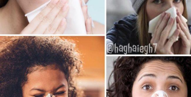رنگ ترشحات بینی درباره سلامت شما چه می گوید