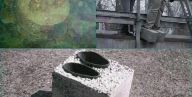 کفشهای سیمانی به وسیله مافیای آمریکا اختراع شد