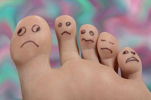 پاها درمورد وضعیت سلامتی می گویند