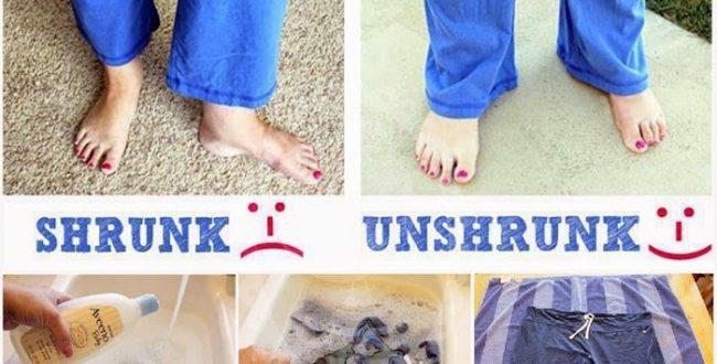 اگر لباستان آب رفته این مطلب را بخوانید