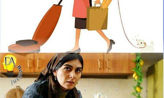 زنهای خانه دار روزانه ۱۱ کیلومتر راه مى روند