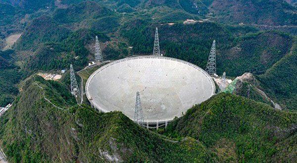 ️چین با تلسکوپ رادیویی غول پیکر FAST جستجو برای حیات فرازمینی را آغاز میکند
