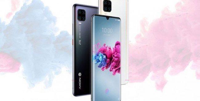 رونمایی گوشی جدید خود با نام ZTE Axon 11 SE توسط شرکت ZTE