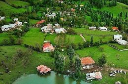 روستای استخرگاه ،بهشت روی زمین