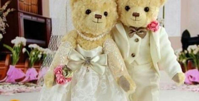 ️ مراسم ازدواج میلیاردی ۲ عروسک